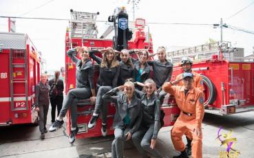 Грациите ни станаха пожарникарки в Япония