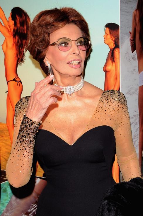 - София Лонес облече тази рокля за първи път през 2009 г.