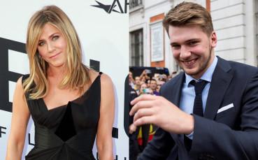 19-годишният Лука Дончич хвърли око на Дженифър Анистън
