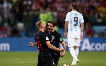 Хърватия удари с големия чук прехваления тим на Аржентина!
