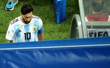 Меси отчаяно искал да помогне на Аржентина