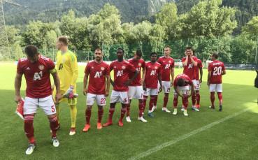 Промяна в последните две контроли на ЦСКА в Австрия