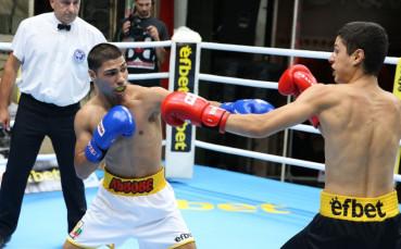 Лъвовете победиха Хановете в Националната боксова лига