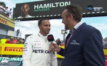 Хамилтън: Исках победата, съумях да спечеля