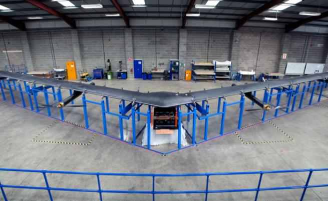Facebook прекрати проекта си за разработка на дронове
