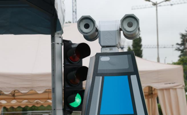 Камера за следене и превенция на пожари
