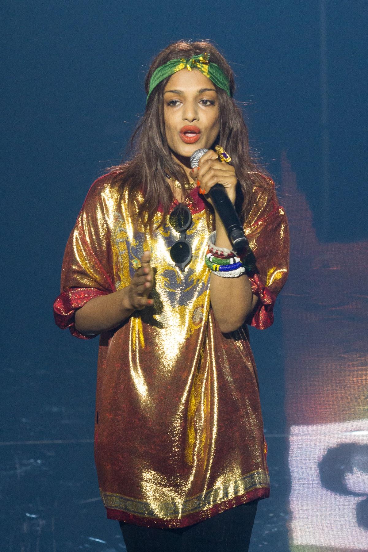Певицата MIA