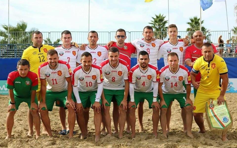 Ясен е съставът на България за Евролигата по плажен футбол