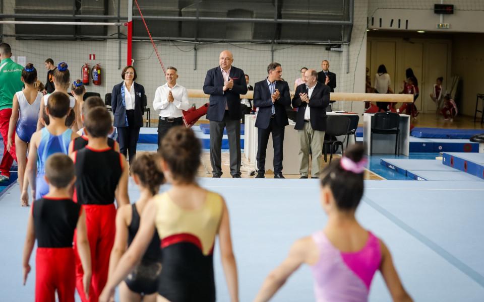 Стартира държавното първенство по спортна гимнастика