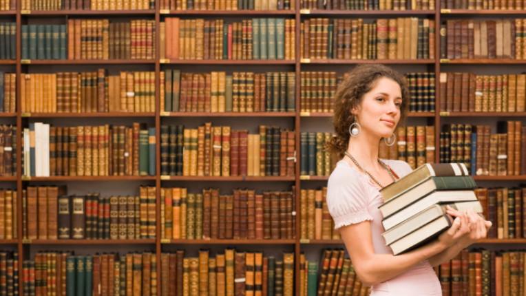 Книги библиотека знание библиотекарка