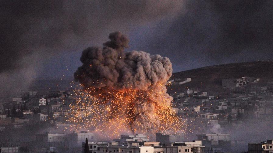 """Руска ракетна атака уби сина на лидера на """"Ислямска държава"""""""