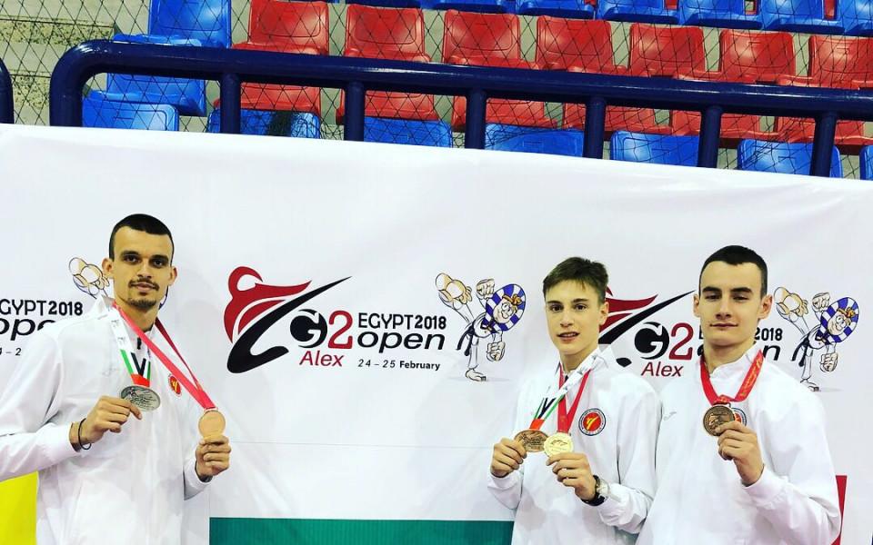 Трима българи на Гран при по таекуондо в Москва
