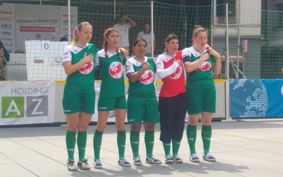 България взе 4 точки в първия ден на Европейския стрийт футбол фестивал 2018