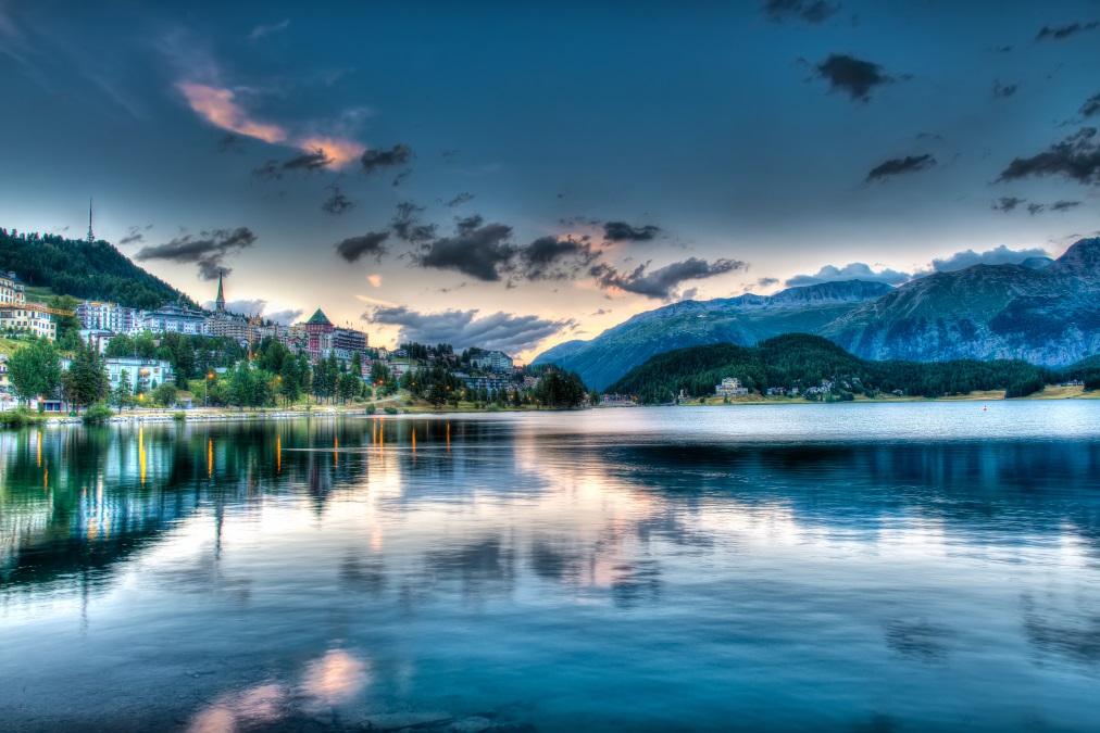 Сейнт Мориц, Швейцария