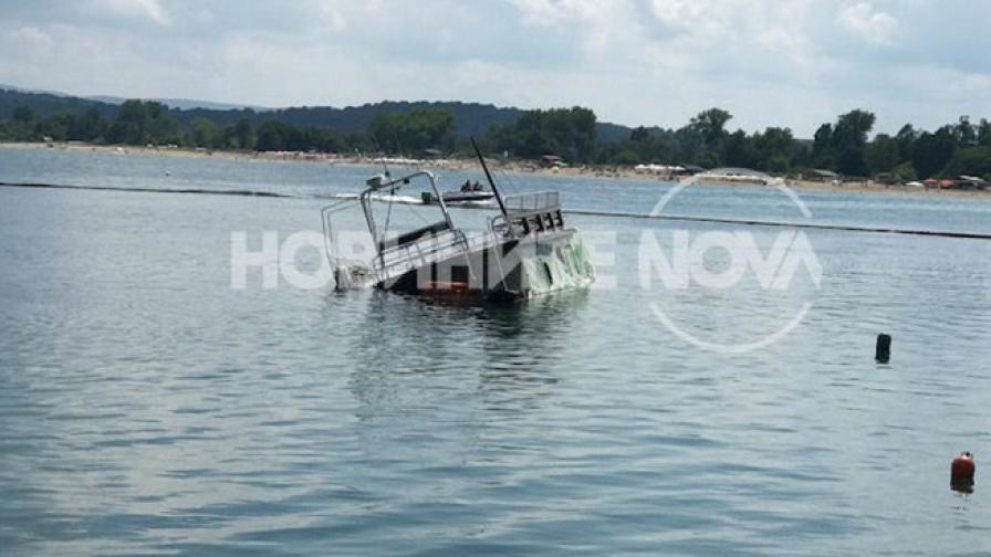 Инцидент с лодка доведе до разлив на гориво в Китен