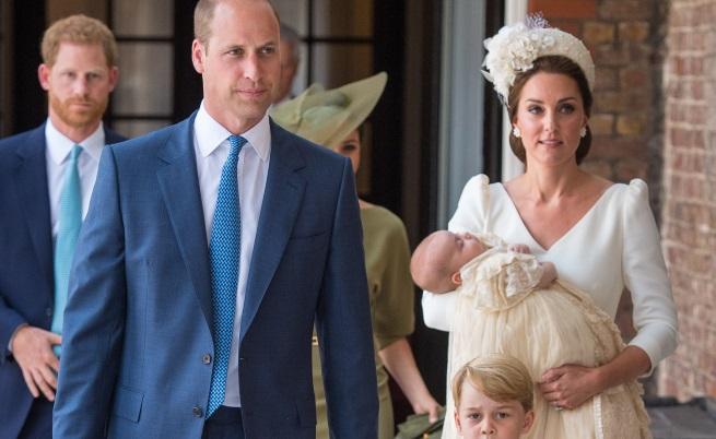 Вижте Кейт и Меган Маркъл на кръщенето на принц Луи (СНИМКИ)
