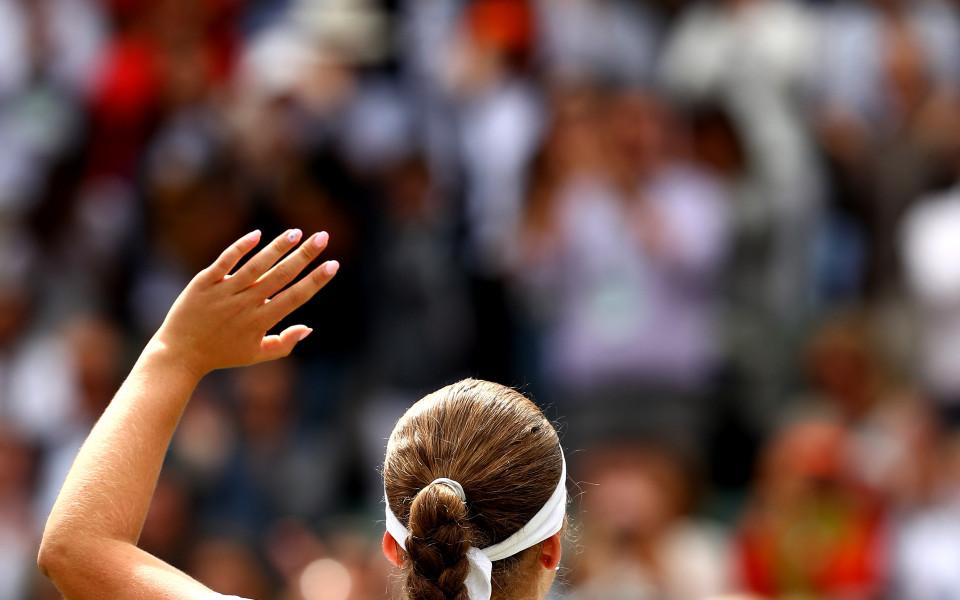 Ясен е първият полуфинал при жените на Уимбълдън