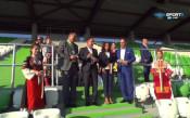 Домусчиев: Добро начало за новата трибуна