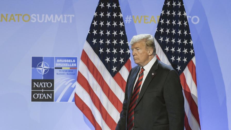 Тръмп: Мога да реша сам за САЩ и НАТО, Путин не е враг