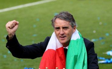 Роберто Манчини видя напредък в играта на Италия