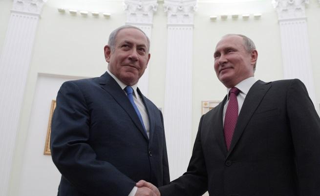 Русия и Израел си стиснаха ръце за Сирия, но предизвикаха много въпроси