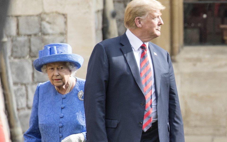 Линекер със забавен коментар за кралицата и Тръмп