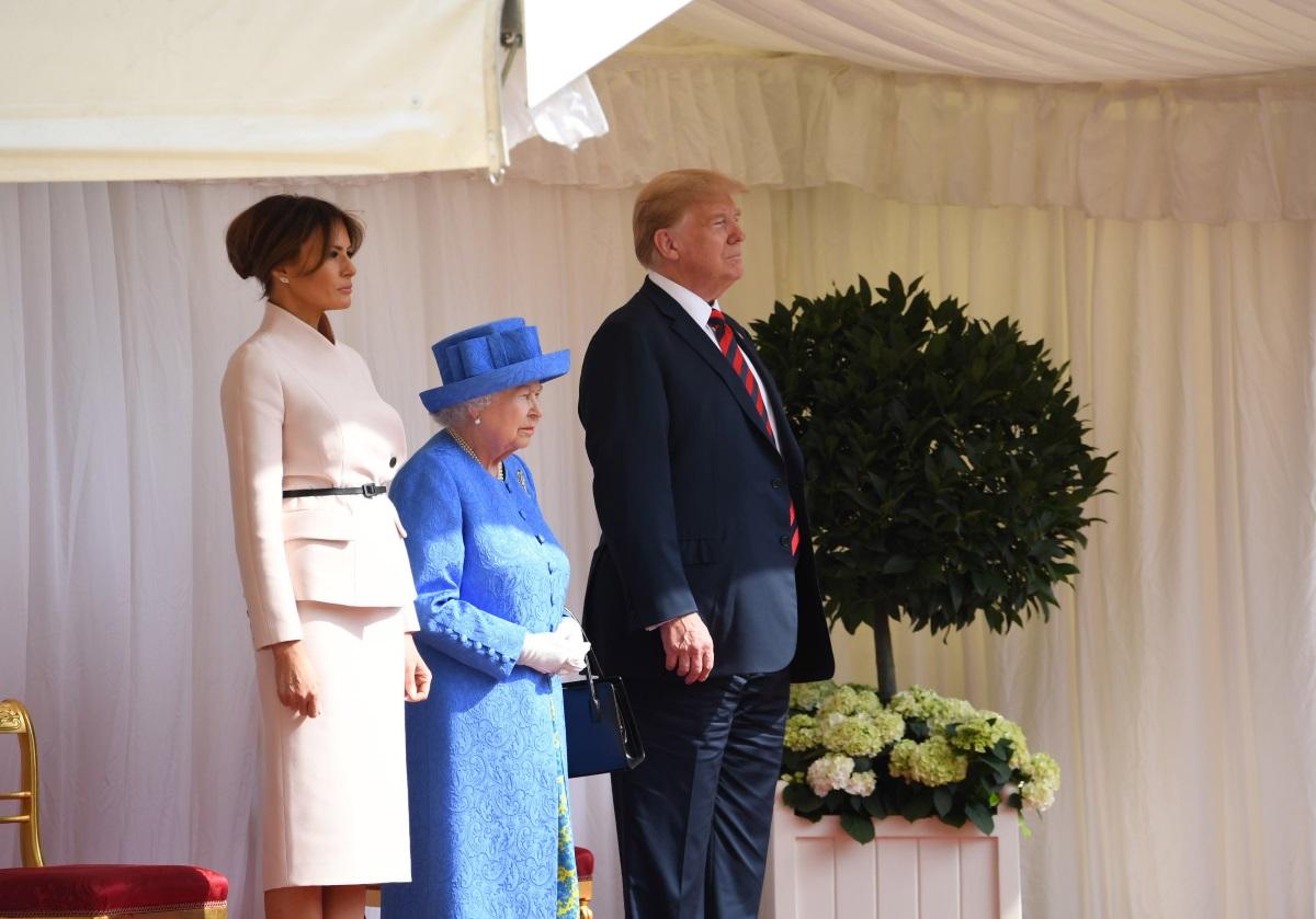 Мелания Тръмп в Лондон