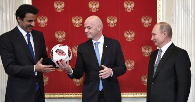 Президентът на Русия Владимир Путин взе участие в церемонията по