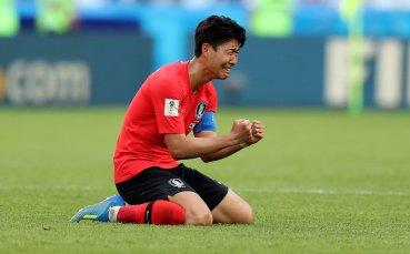 Сон помогна на Корея за победа над Китай