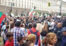 Протестът на фермерите в София