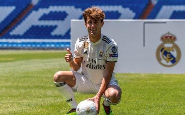 Бранител чака своя шанс в Реал Мадрид