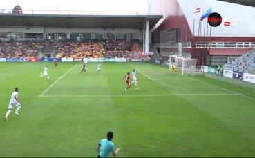 ФК Рига - ЦСКА 1:0 /първо полувреме/