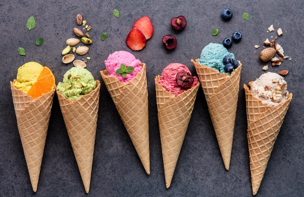 Номер 4: сладоледът.