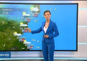 Прогноза за времето (20.07.2018 - централна емисия)