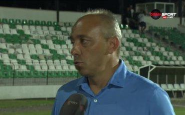Илиан Илиев: Надявам се този успех да ни повлияее като допинг за следващия мач