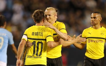 Резервите на Сити и Дортмунд спретнаха як мач, Борусия би