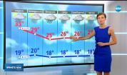 Прогноза за времето (22.07.2018 - обедна емисия)