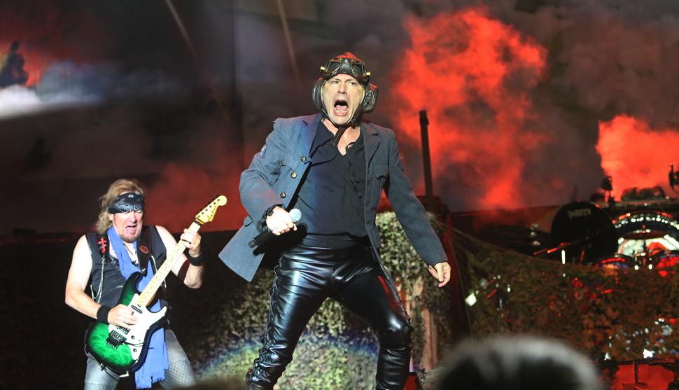 """Легендите """"Iron Maiden"""" на сцената в Пловдив"""