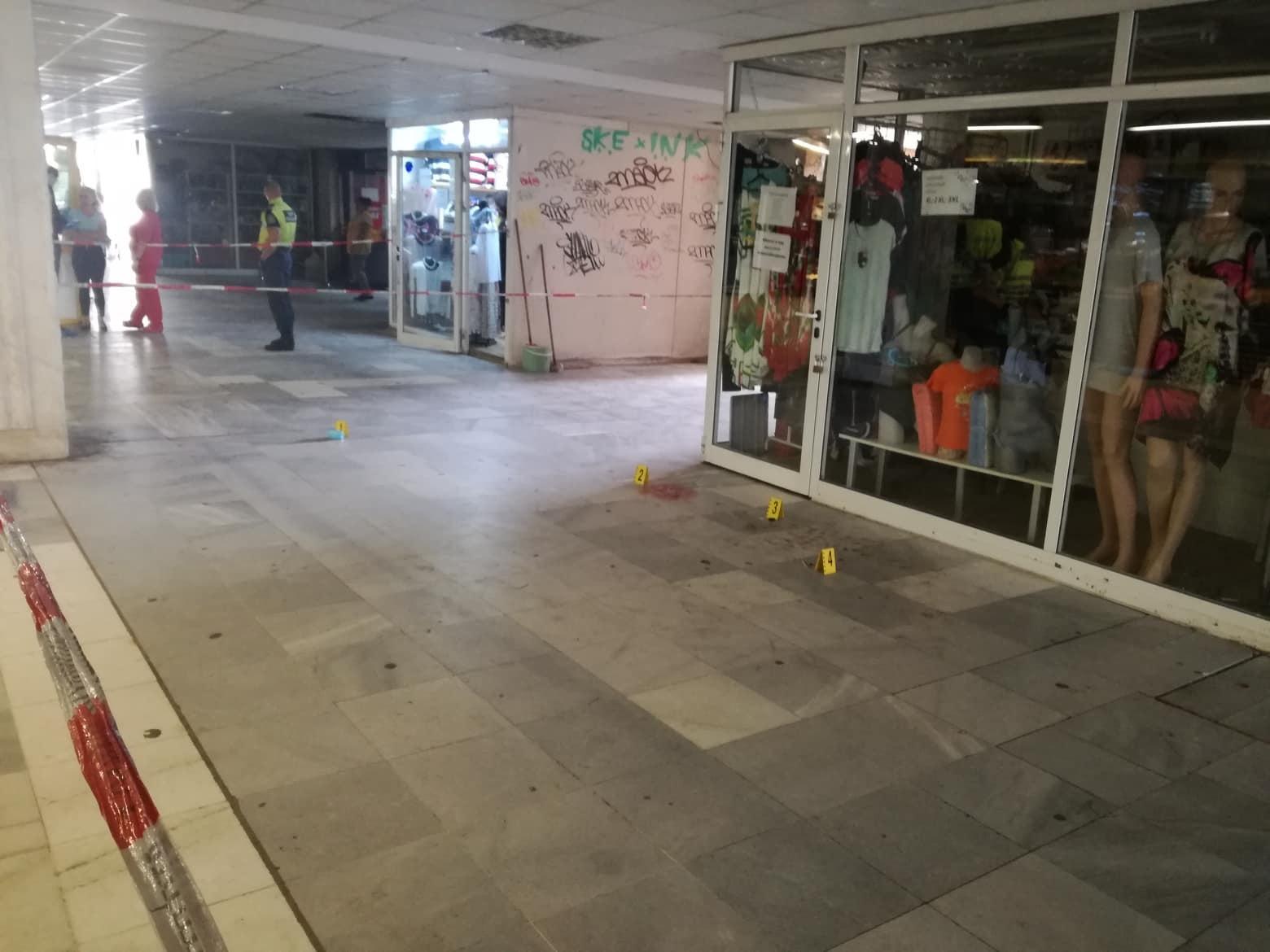 Мъж простреля клиент на магазин