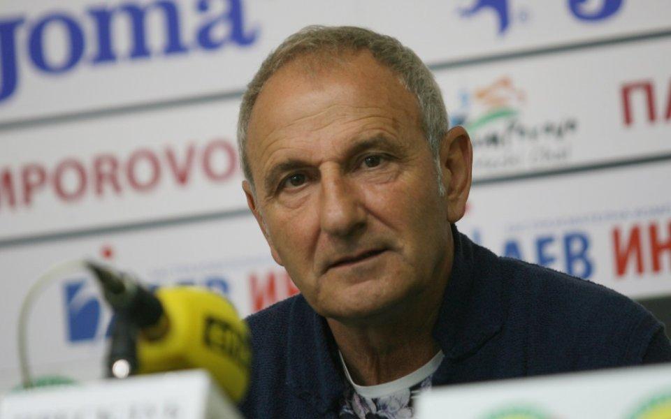 Никола Спасов: Основен претендент сме за Първа лига