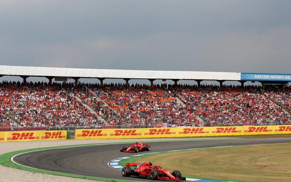 Светлина в тунела за Гран При на Германия във Формула 1