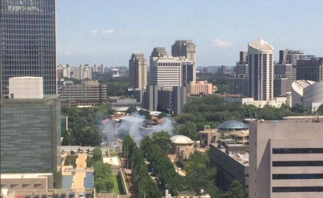 Взрив пред посолството на САЩ в Пекин (ВИДЕО)