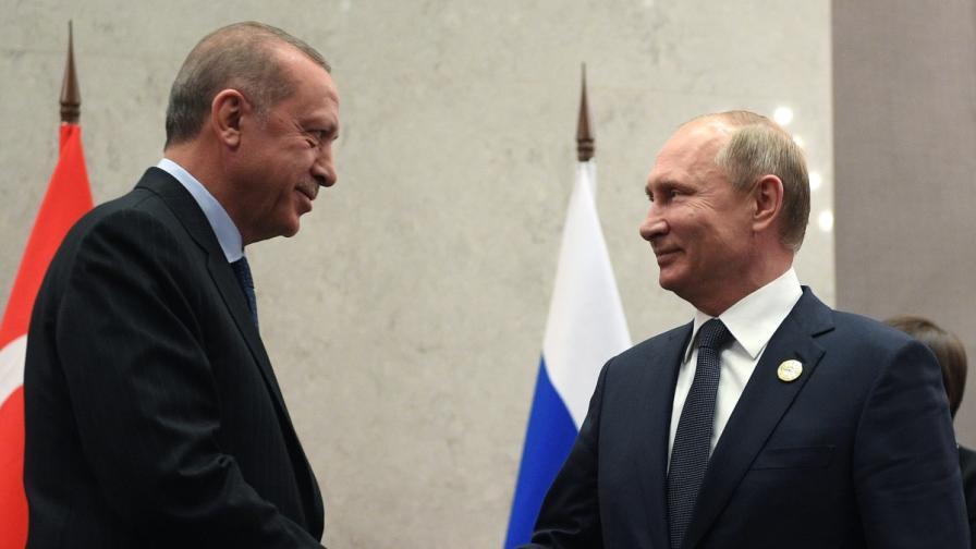 Ердоган: Някои държави ни завиждат заради Русия