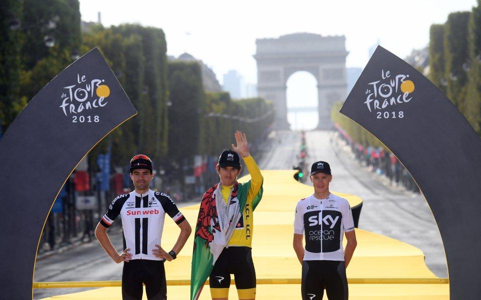 Герайнт Томас официално стана победител в Тур дьо Франс 2018