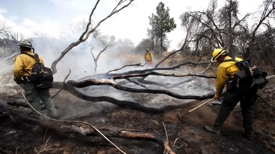 Ветровете и сушата засилват пожарите в Калифорния