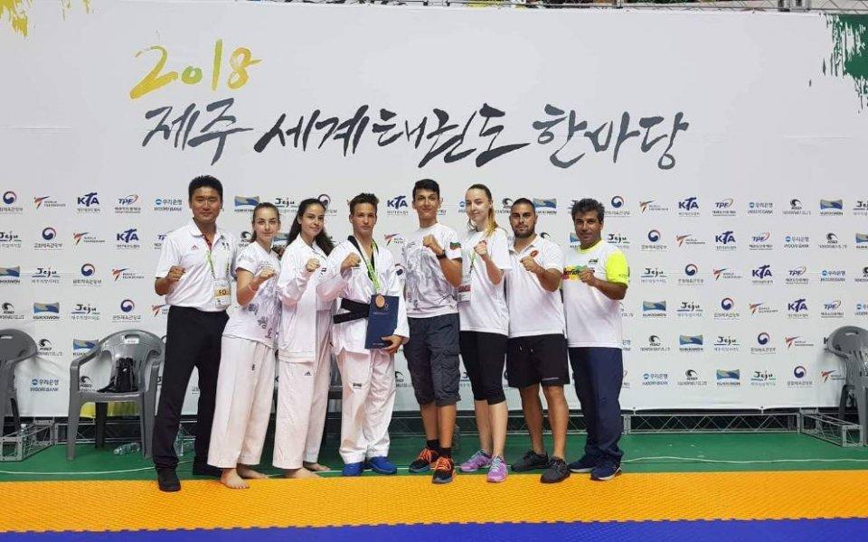 Нови медали от олимпийското ни таекуондо в Корея