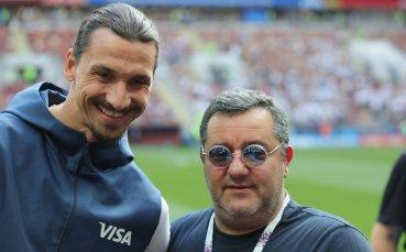 Трепети в Милан: Агентът на Ибра пристигна в Милано
