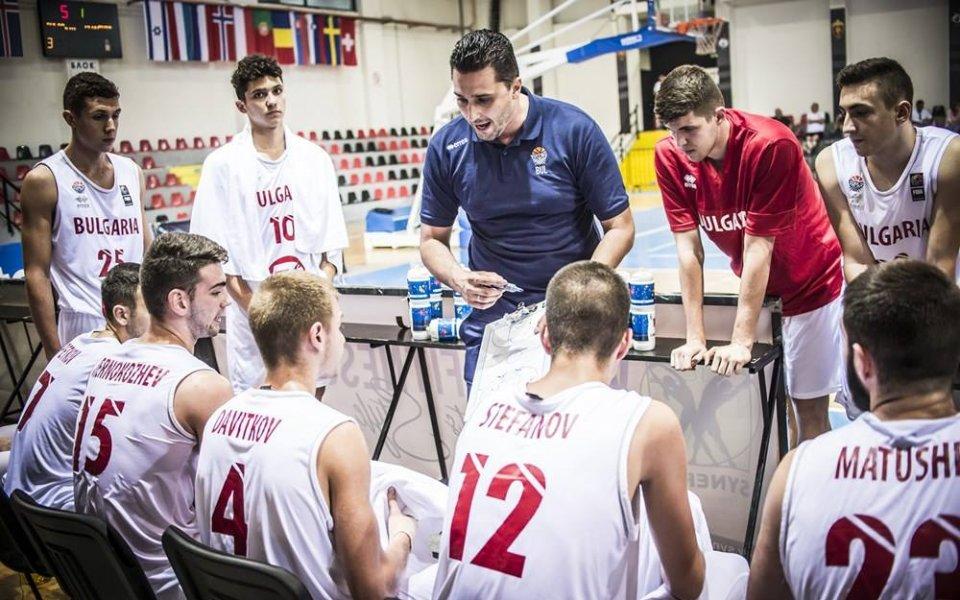България на 11-о място на ЕП по баскет за юноши до 18 години в дивизия Б