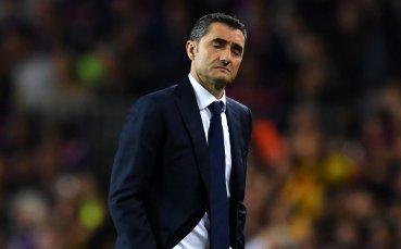 Треньорът на Барселона доволен от успешния старт в Шампионска лига