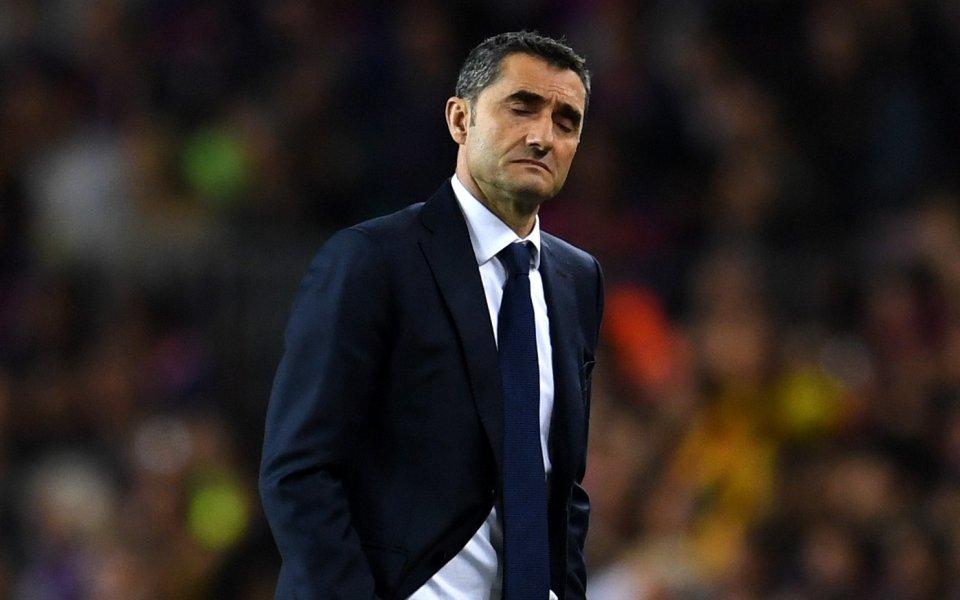 Барселона обяви пълната си подкрепа към Валверде
